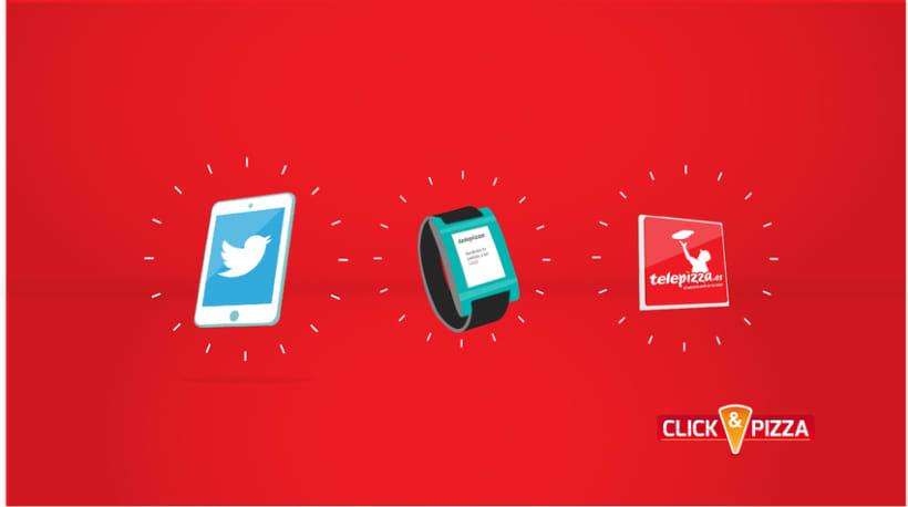 Telepizza // Click&Pizza 0
