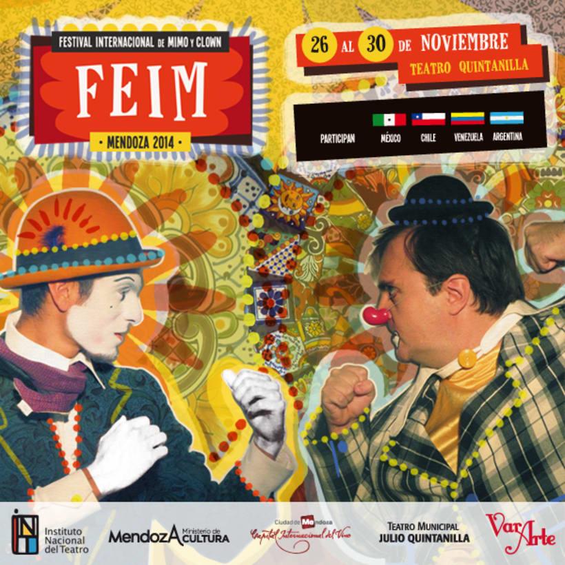 FEIM | Festival Internacional de Mimo y Clown 1