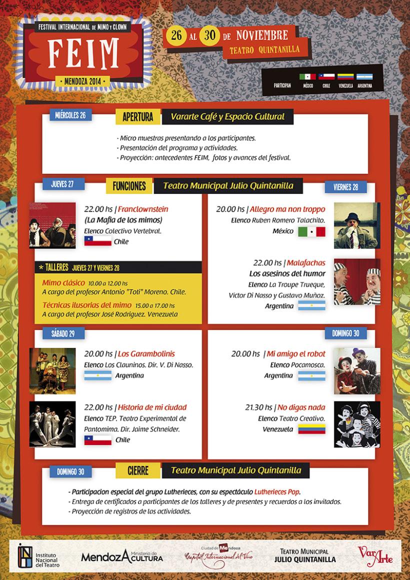 FEIM | Festival Internacional de Mimo y Clown 2