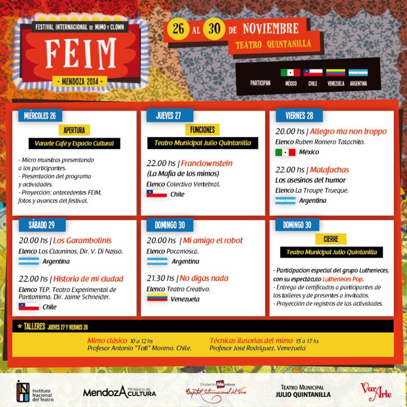 FEIM | Festival Internacional de Mimo y Clown 3