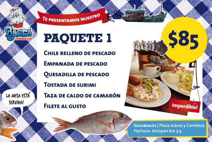 Menú La Barca Restaurantes 4