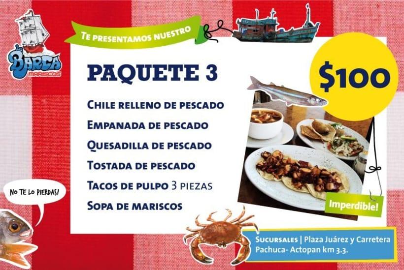 Menú La Barca Restaurantes 7
