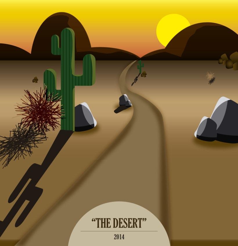 The desert - ilustration -1