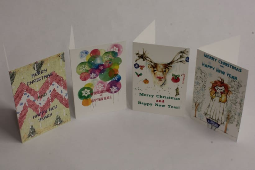New Christmas Cards / Nuevas postales de Navidad 2