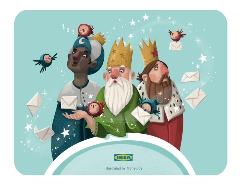 """La Otra Navidad. Campaña Ikea'14  GANADORA DEL PREMIO """"El Chupete"""" (2015) premios Cine-TV y página web. 1"""