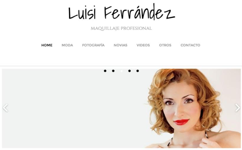 Luisi Ferrández Maquillaje 0