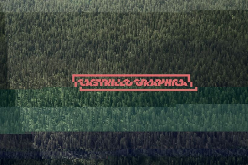 Glitch Branding — Castrillo Graphica 1