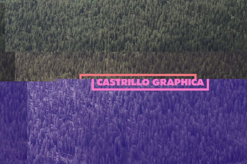 Glitch Branding — Castrillo Graphica 2