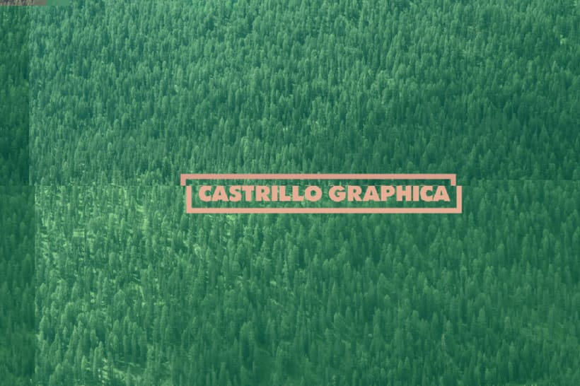 Glitch Branding — Castrillo Graphica 0