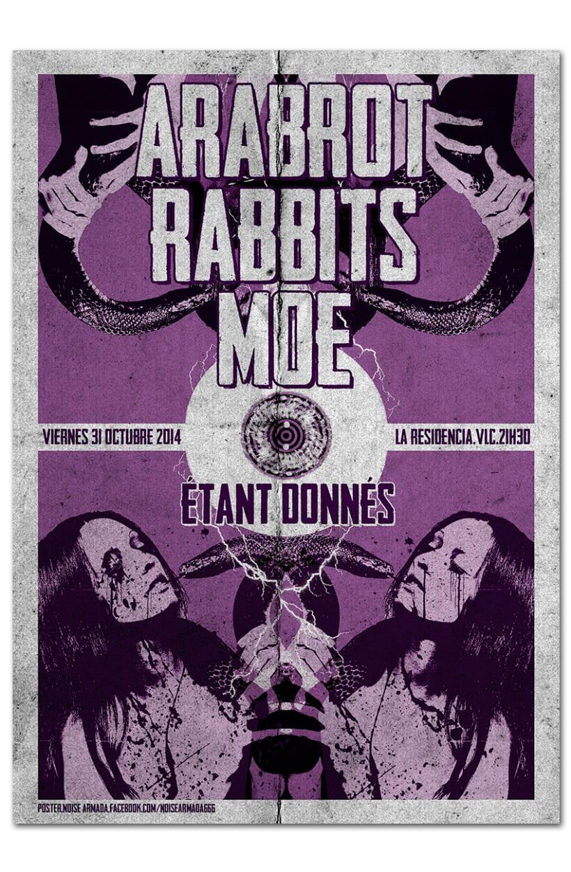 ARABROT + RABBITS + MOE + ETANT DONNÉS | poster 0