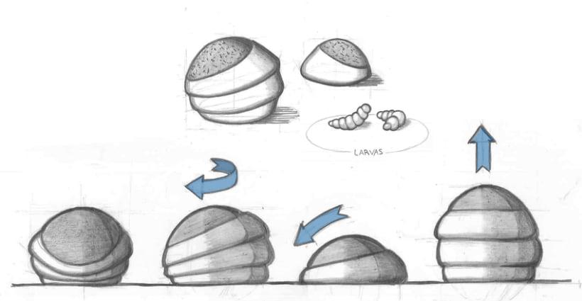 Diseño conceptual. Altavoz BioFuturista. 0