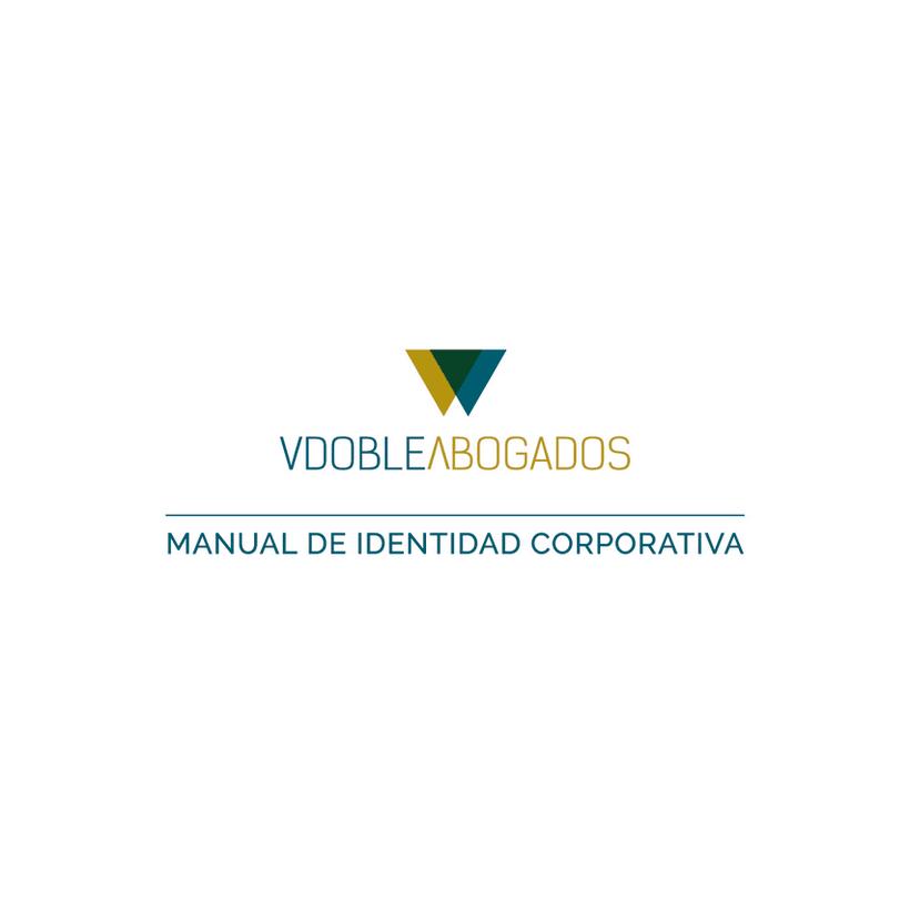 Manual de identidad corporativa :: Vdoble Abogados -1