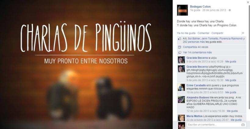 """Bodegas Colon """"Charlas de pingüinos"""" 1"""