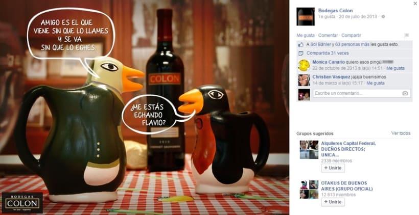 """Bodegas Colon """"Charlas de pingüinos"""" 2"""