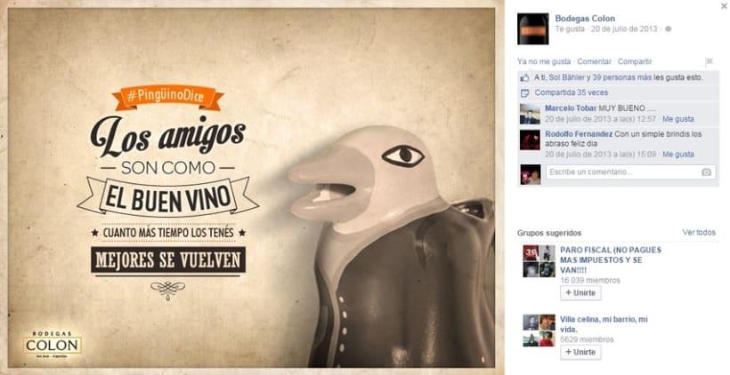 """Bodegas Colon """"Charlas de pingüinos"""" 5"""