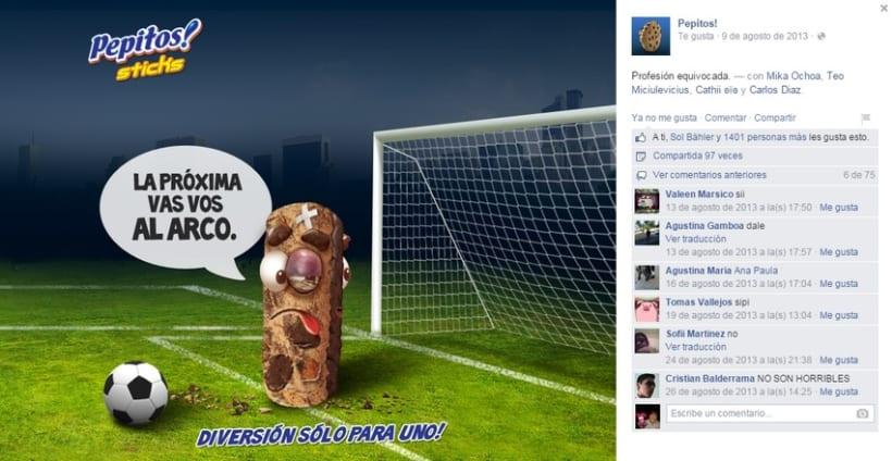 Pepitos Sticks - Campaña 2