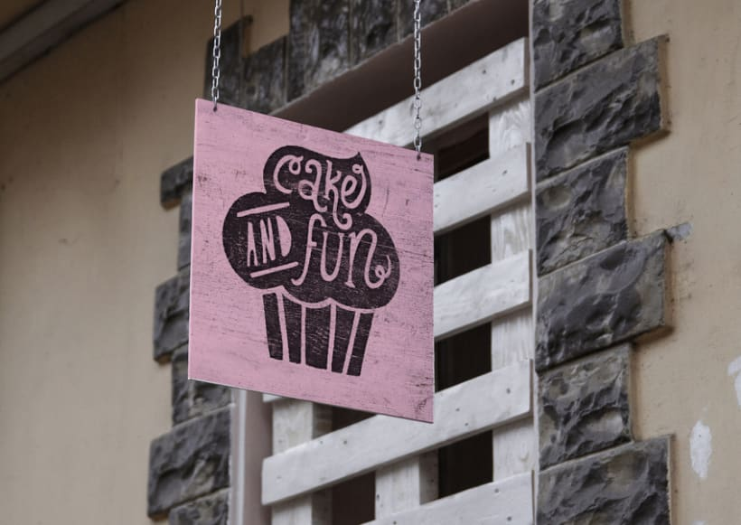 Logotipo para Cake & Fun  4