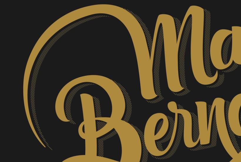 Mi logo Marco Bernardes Lettering | Domestika
