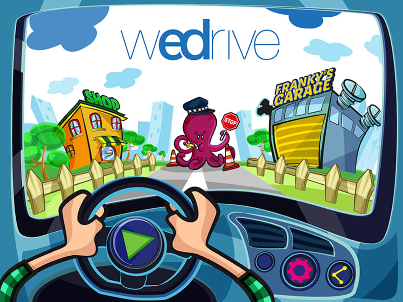 "Project Presentation: Audi App for children ""WeDrive"" 1"
