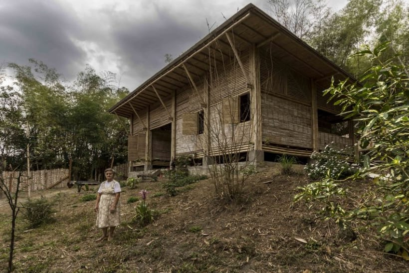 Casa de Bambú en Manabí, Ecuador - Arquitectura Vernácula   Domestika
