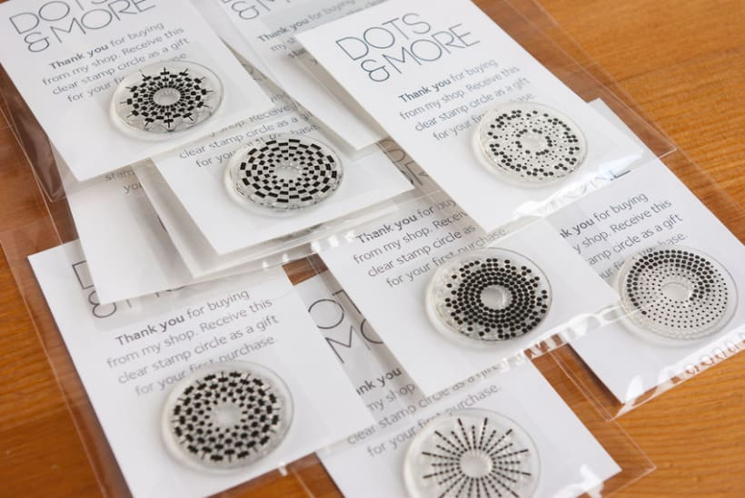 Circle Clear Stamps 29