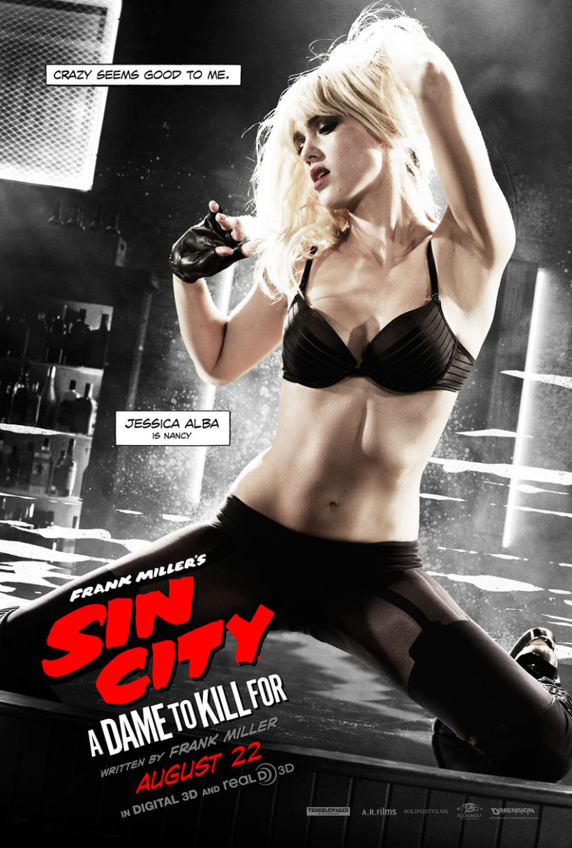 Sin City: A Dame to Kill For -  Posters 15