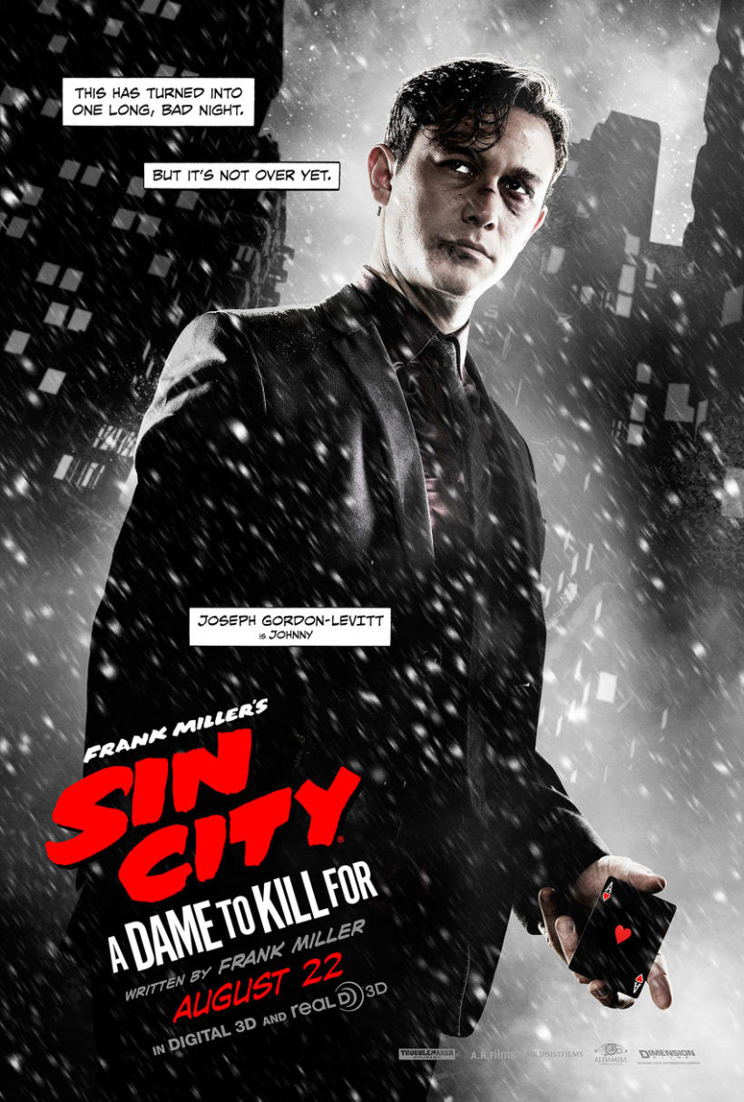 Sin City: A Dame to Kill For -  Posters 3