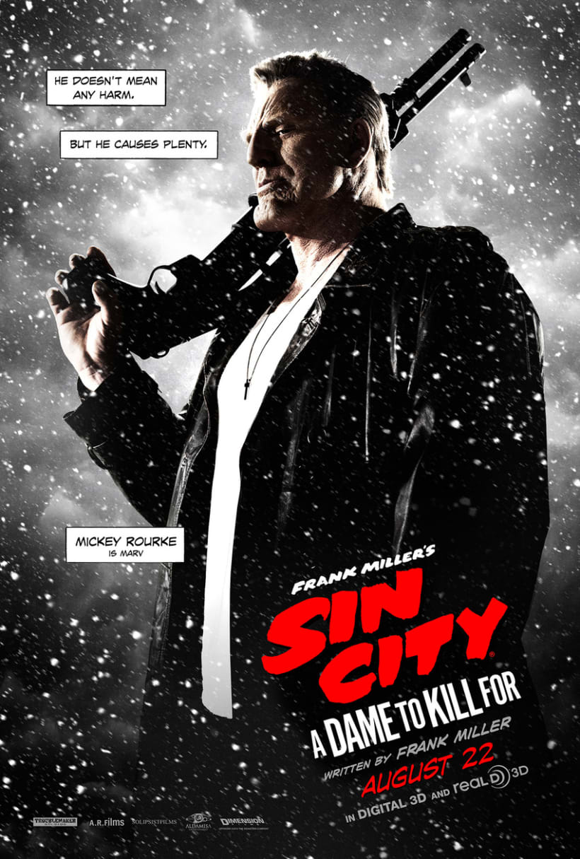 Sin City: A Dame to Kill For -  Posters 4