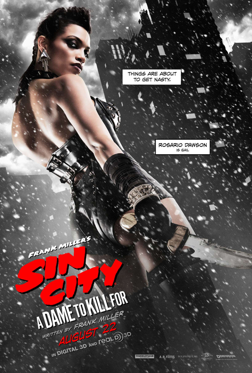 Sin City: A Dame to Kill For -  Posters 1