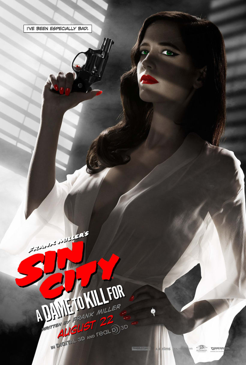 Sin City: A Dame to Kill For -  Posters 0