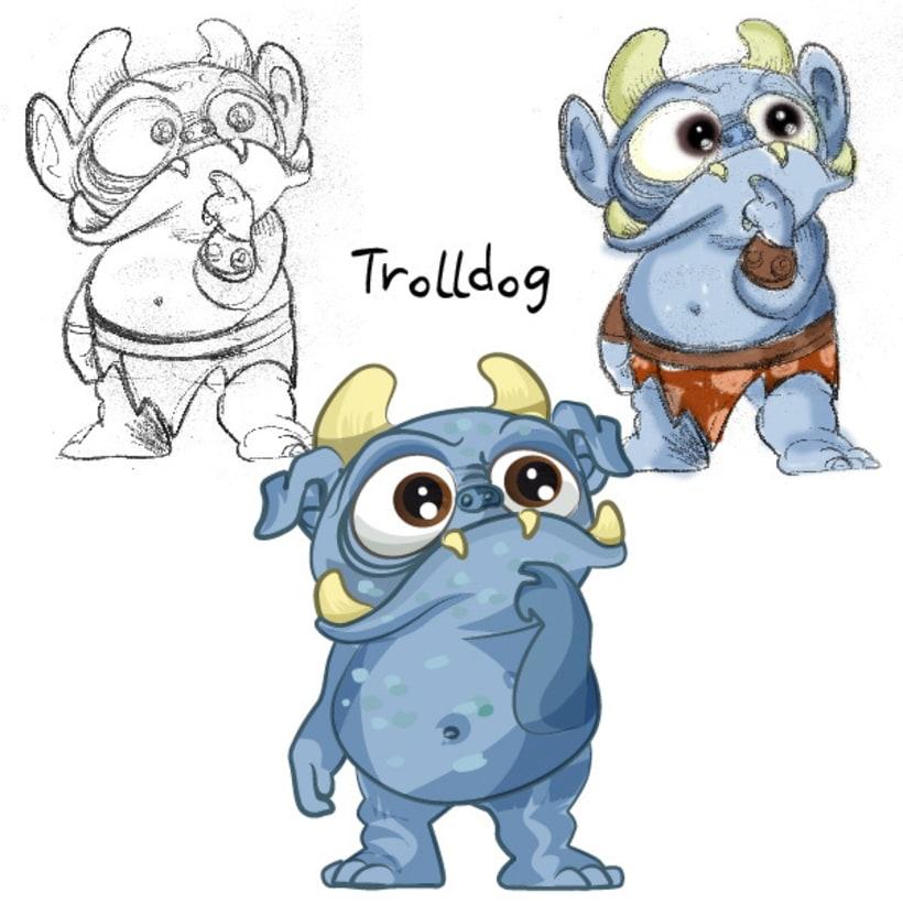 Character design: Concept & Final Art 2