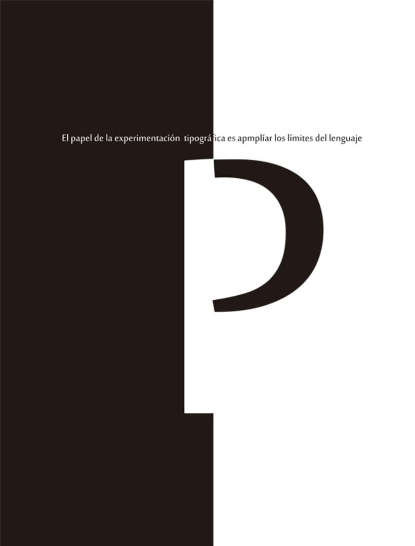 Experimentaciones tipográficas 1