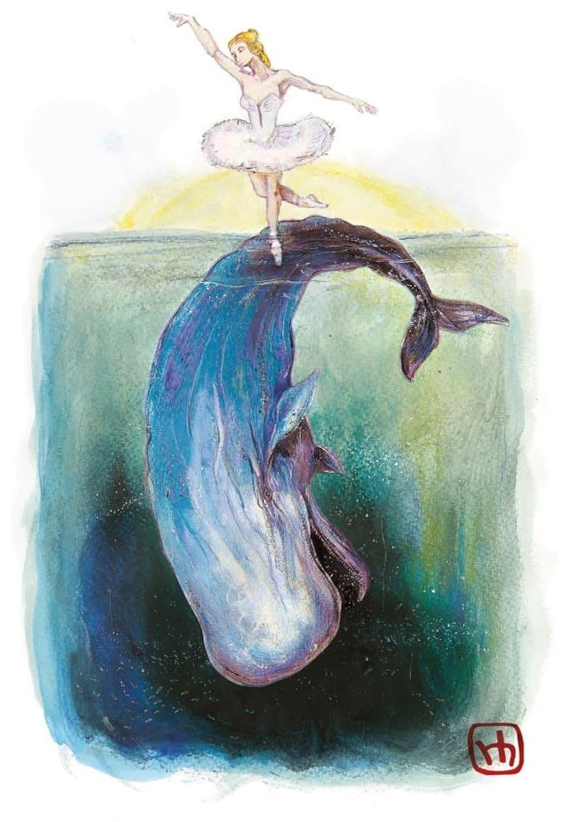 """Libro ilustrado """"Bailando con Textos"""" con relatos de Ana Bastante 1"""