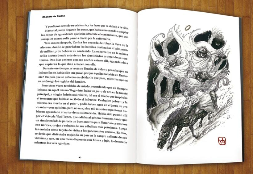 """Libro ilustrado """"Bailando con Textos"""" con relatos de Ana Bastante 0"""