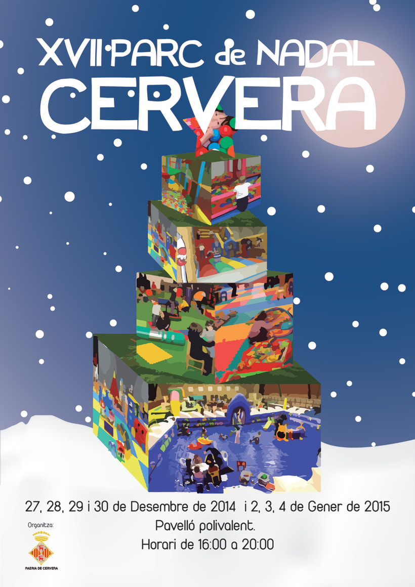 Cartell Parc de Nadal 2014 / Cartel Parque de Navidad 2014 0