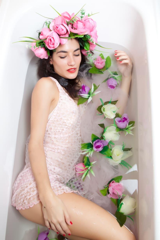 Bathtub Series _flowers 2