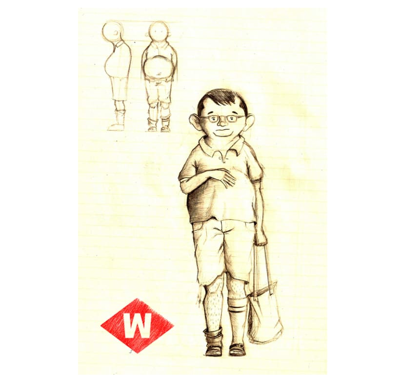 Wild of Barcelona (character design) 0