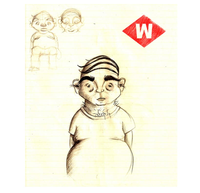 Wild of Barcelona (character design) 4