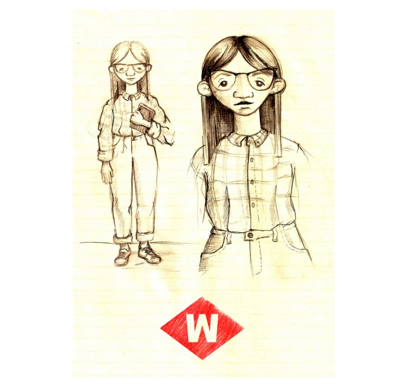 Wild of Barcelona (character design) 6