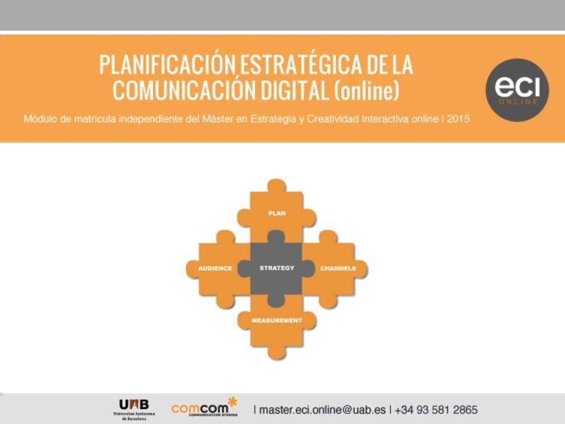 ECI Online - Curso de Planificación Estratégica de la Comunicación 0