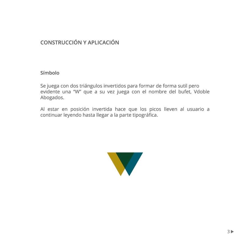 Manual de identidad corporativa :: Vdoble Abogados 2