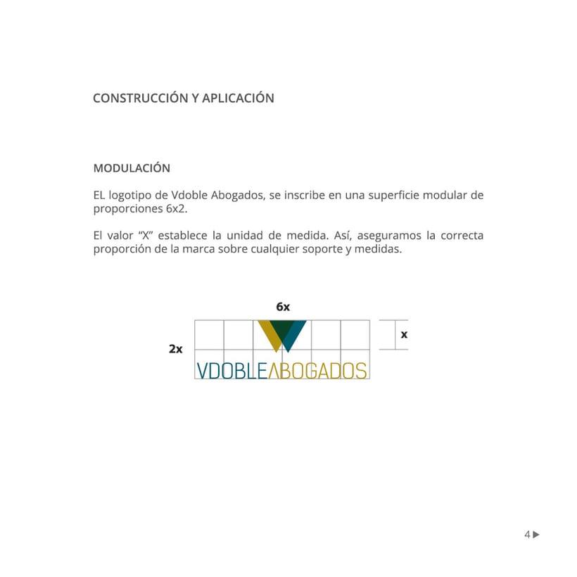 Manual de identidad corporativa :: Vdoble Abogados 3