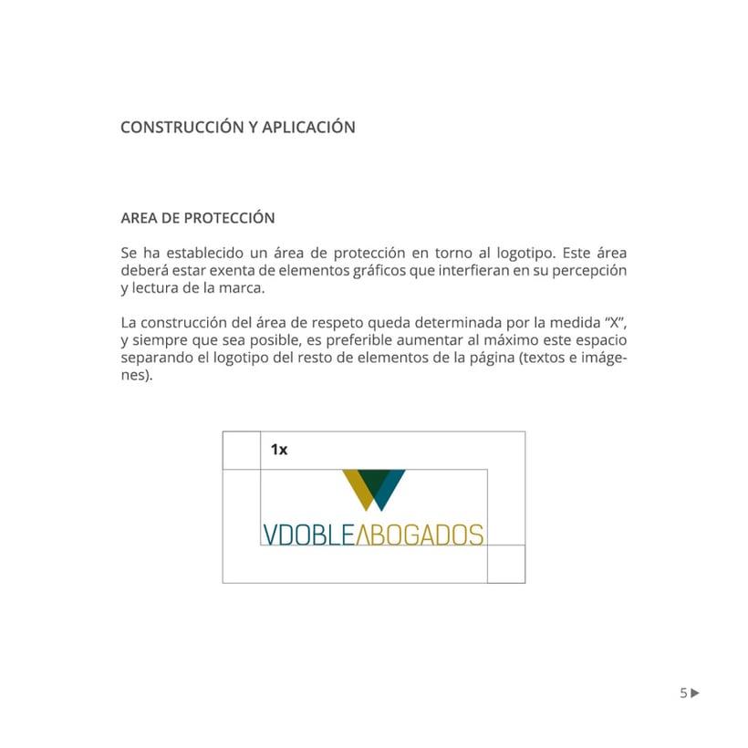 Manual de identidad corporativa :: Vdoble Abogados 4