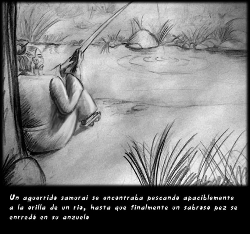 """""""CUENTOS ZEN"""" (Ilustración Editorial) 1"""