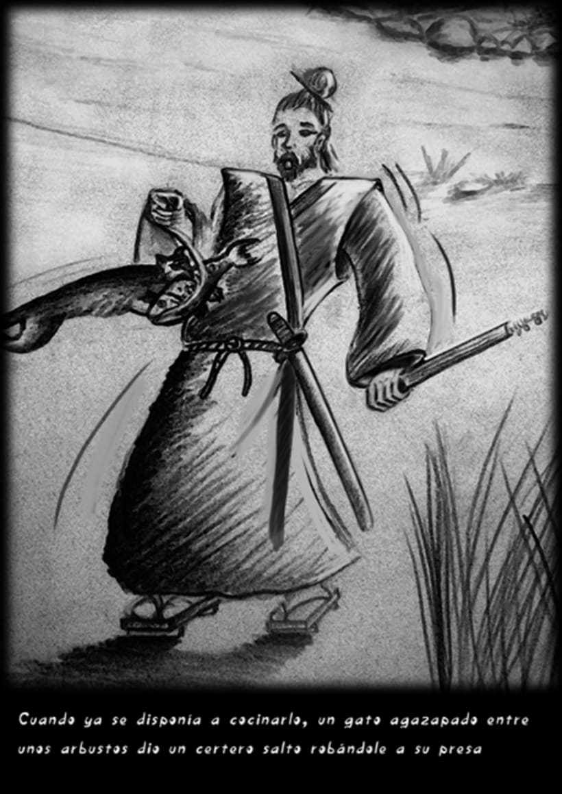 """""""CUENTOS ZEN"""" (Ilustración Editorial) 2"""