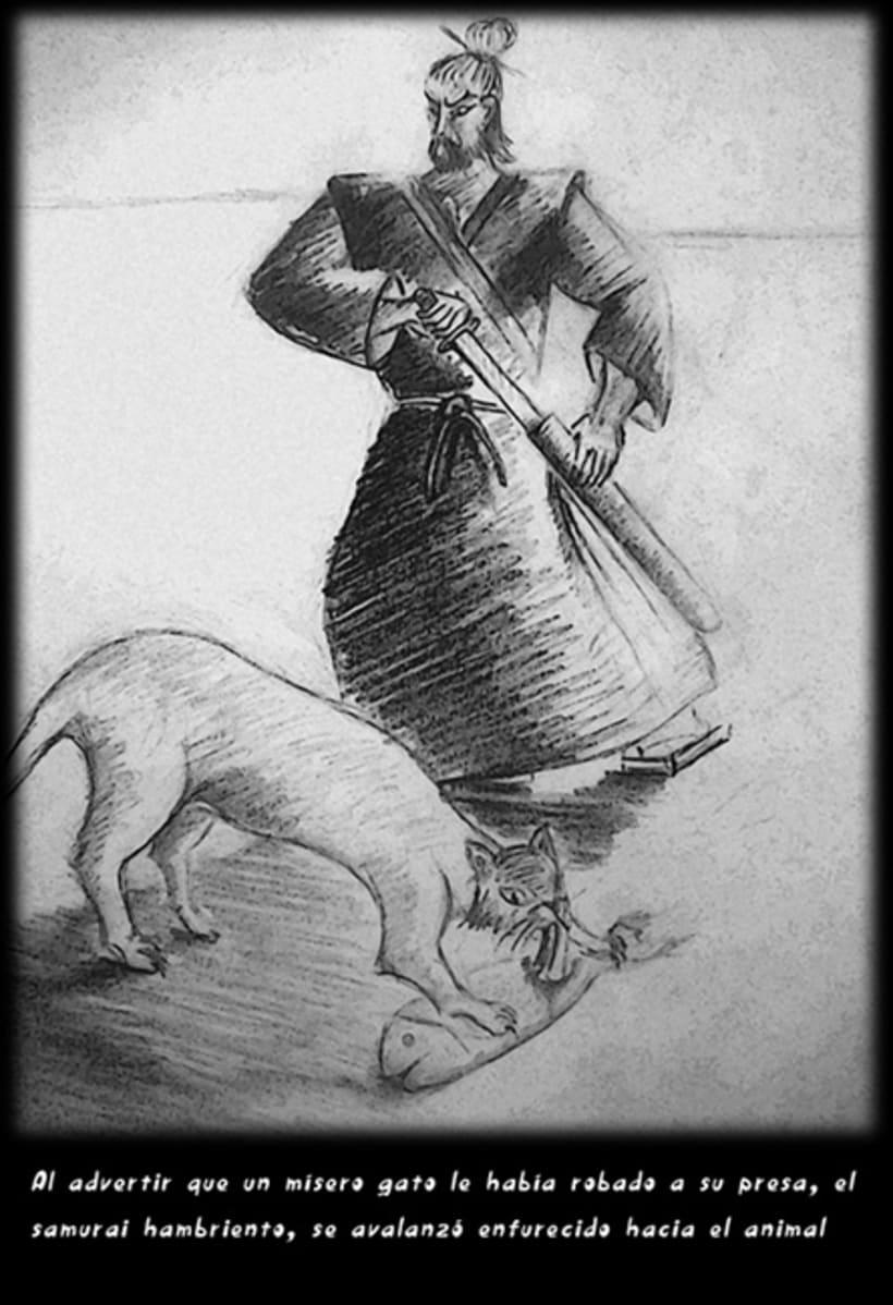 """""""CUENTOS ZEN"""" (Ilustración Editorial) 3"""