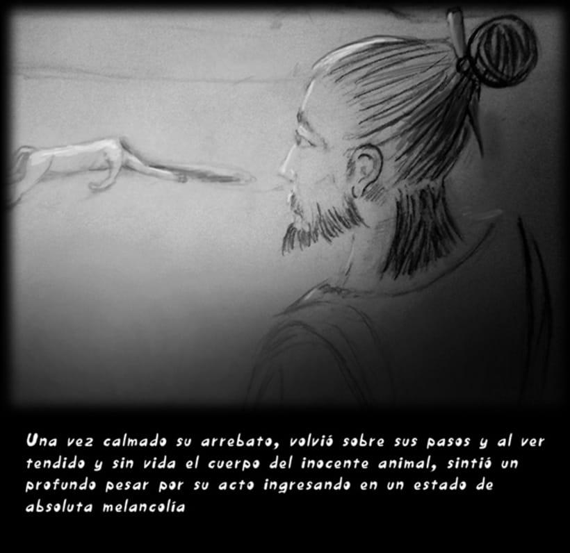"""""""CUENTOS ZEN"""" (Ilustración Editorial) 6"""