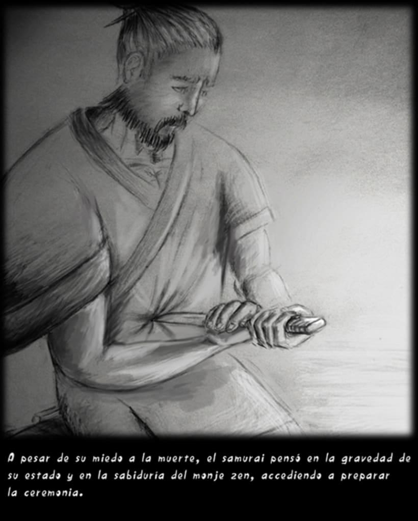 """""""CUENTOS ZEN"""" (Ilustración Editorial) 11"""