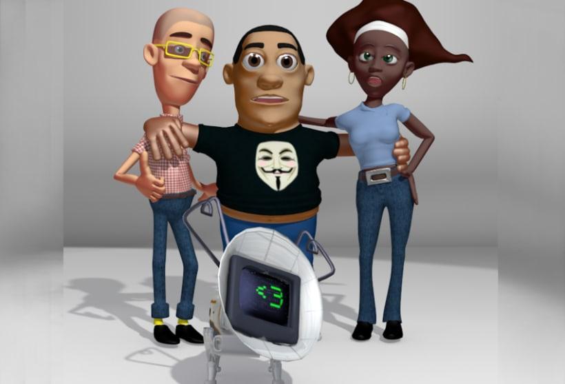 Creación de Personajes para Videos animados 1