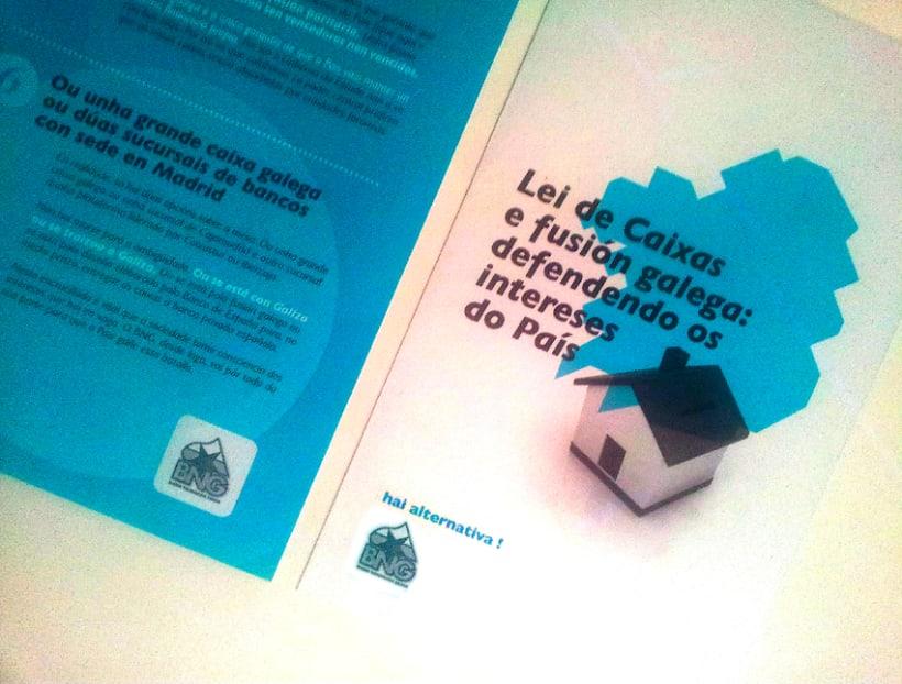 Campaña por un sistema financeiro propio que defenda as Caixas Aforro Galegas 1